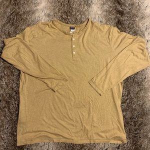 Patagonia Men's Beige/Tan Organic Cotton XXL